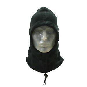 Balaclava Fleece Snood Open Face Fishing Ski Bike Cycling Neck Warmer Gaiter Hat