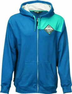 NEW FLY PATCH ZIP-UP BLUE DIRT BIKE MOTOCROSS - ALL SIZE