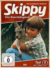 Skippy - Das Buschkänguruh: Teil 1 [4 DVD's/NEU/OVP] Skippy und Wildhüter-Sohn S