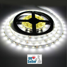 5m Roll LED Strip Tape Lights 300 LEDs SMD 3528 Cool White 6000k - DC 12v - UK