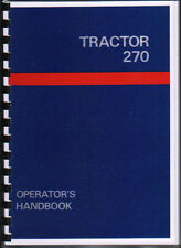 "Leyland ""270"" Tractor Operator Handbook Manual"