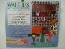 Wallies Wallpaper Cutouts 25 Airplane Pre-Pasted Wall Decor Decal #12121 Crafts