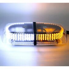 Awesome Amber White 240 LED Safety Strobe Light Warning Emergency 7 Patterns
