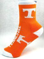 Tennessee Volunteers NCAA Youth Orange Crew Socks White Trim on Cuff