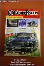Oldtimer Praxis 10/97 Goliath Hansa 1100 Coupe
