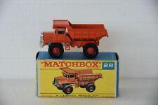 Matchbox 28d Mack Dump Truck