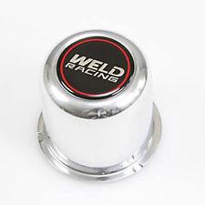 "WELD   Custom Wheel Center Cap Polished Aluminum  8/""  Diameter NEW WITH BOLTS"