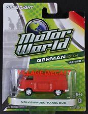 Greenlight Motor World Series 5 Volkswagen® Panel Bus MATTE RED/MOC