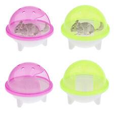Hamster Mice Rat Sand Bath Bathroom Cage Box Small Animals Toy Toilet Bathtub