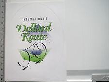 Aufkleber Sticker Dollard Route - Radfahrerrundkurs - Leer-Emsland 1 (6034)