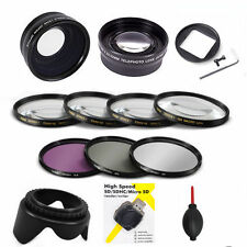 FISHEYE LENS + MACRO KIT + 2X ZOOM LENS +3 HD FILTERS FOR GOPRO HERO4 BLACK