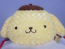 "Sanrio Pompompurin Plush Pom Pom Purin NWT 24"" Cushion from Japan - Brand New"