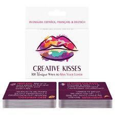 1 Creative Kisses Card Game gag gift adult novelty naughty Kheper Games