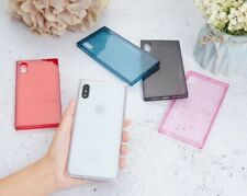 lot 5 square case for iPhone 11 XR XS MAX 8 Plus Shockproof TPU Protective COVER