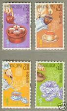Hong Kong 2001 Hong Kong Tea Culture Stamps