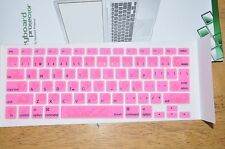 "Hello kitty keyboard protector for ISO/European Macbook pro Air 13"" 15"" 17"""