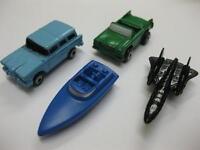 4 x MICRO MACHINES 2 x CAR BOAT & AEROPLANE RARE NEW 90s COLLECTABLE COLLECT