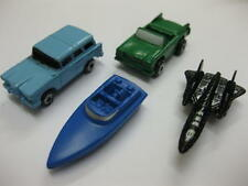 4 x micro machines 2 x voiture bateau avion rare nouvelle & des années 90 collection recueillir