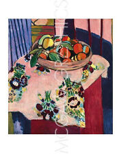 "MATISSE HENRI - BASKET WITH ORANGES - ART PRINT POSTER 14"" X 11"" (2115)"
