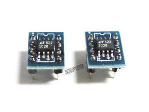 2PCS LT1028CS8 LT1028 on SOIC TO DIP8 adapter