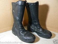 Probiker Cruiser Motorrad Touring Boots Stiefel schwarz Rauleder Gr 44