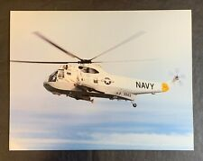 Sikorsky Sh-3H Sea King Navy Helicopter 8x10 Photo Card