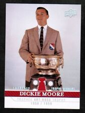 2008-09 UD CENTENNIAL DICKIE MOORE #265 HABS CAPTAINS SP (ref 10030)