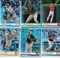 2019 Topps Series 1 Rainbow Foil Parallel You Pick/Choose the card