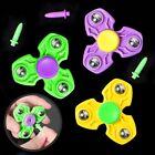 Hand Spinner Finger EDC Focus Autism ADHD Tri Fidget Plastic Bar Pocket Gyro Toy