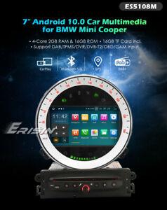 "RADIO 7"" MINI COOPER 2006-2013 ANDROID 10, GPS, BLUETOOTH, CAR PLAY, CAM REGALO"