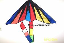 "Modern Butterfly Delta Kite:48"" W X 60"" L w/Tail:Wind, Family, Outdoor, Toy,Gift"