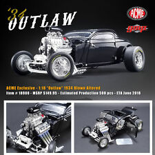 1:18 GMP #18900 - Exclusive Outlaw 1934 Blown Altered Black  Lmtd.Edition 1v.500