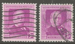 U.S. #988 1950 3¢ Samuel Gompers Issue American Labor Leader F-VF ULH