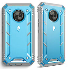 360°Protective Case For Motorola Moto X4 Shockproof Cover Blue