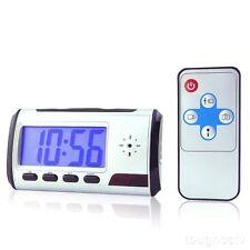 32gb Reloj despertador cámara Mini Dormitorio Salón ESCONDIDO SpyCam Vídeo Tono