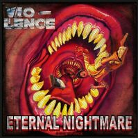 VIO-LENCE - ETERNAL NIGHTMARE (NEW) SEW ON PATCH OFFICIAL BAND MERCH