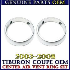 NEW CENTER AIR VENT RING SET for 2003-2008 Hyundai TIBURON / COUPE OEM Part