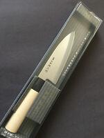 """Kotobuki Teruhisa Deba Japanese Kitchen Knife 6"""" (150mm) Blade Made in Japan"""