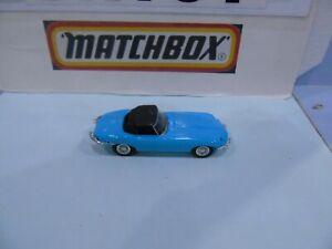 MATCHBOX DINKY PRE PRODUCTION DY1 E TYPE JAGUAR PALE BLUE BLANK BASE EXEMPLOYEE