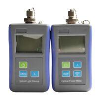 Fiber Optic Test Tool Digital Handheld Optical Power Meter Optical Light Source