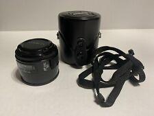 [Ex condition] Minolta AF 50mm f/1.4 Prime Lens for Sony Minolta A-Mount