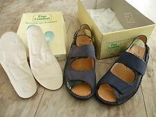 FINN COMFORT Izmir Damen Sommer Schuhe Sandalen Klett Einlagen Gr.4,5 / 37,5 NEU