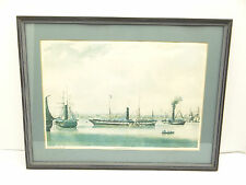 Vintage National Maritime Museum The Wilberforce RG Reeve Nautical Yacht Print