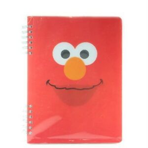 Vandor Lenticular Spiral Notebook- Elmo