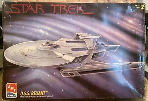 Vintage- AMT Star Trek USS Reliant 1/650 Scale - Open Box