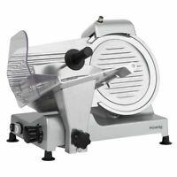 HKoenig Allesschneider Schneidemaschine 0-12mm Messerschärfer 240 Watt silber