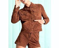 Wrangler WMN Suede Jacket W400RZEUS, Plaza Taupe, S