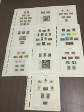 MOMEN: CYPRUS 1969-1973 MINT COLLECTION ON 10 HINGELESS PAGES LOT #6053
