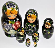 Babuschka Matrjoschka Matrioschka Matroschka Matruschka 7x Figur Puppe 19cm
