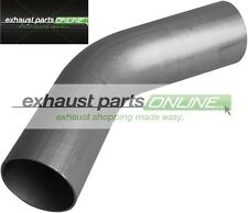 "3"" 76mm 45 DEGREE MANDREL BEND MILD STEEL EXHAUST PIPE"